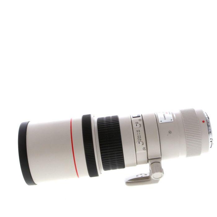 Canon EF 400mm F/5.6 L EF USM Lens - Boxed with lens case