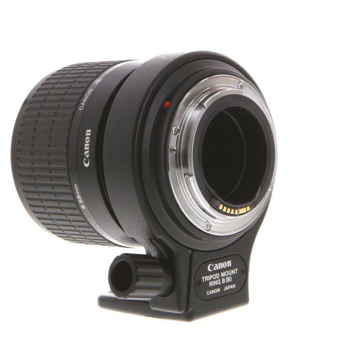 Canon 65mm f/2.8 MP-E 1-5X Macro Manual Focus EF-Mount Lens {58}