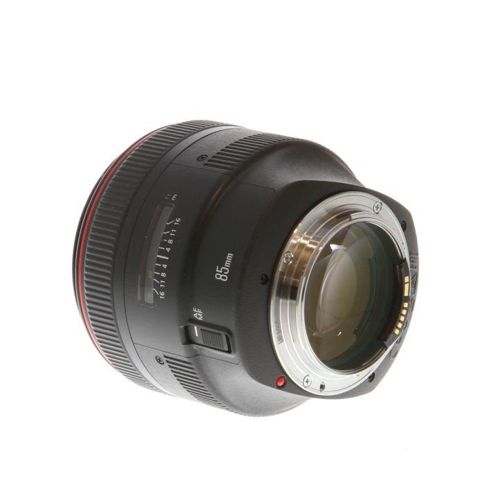 Canon 85mm f/1.2 L II USM EF-Mount Lens {72}