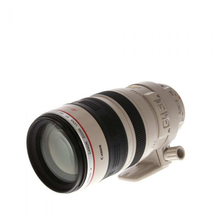 Canon 100-400mm f/4.5-5.6 L IS USM EF Mount Lens {77} with Tripod Foot