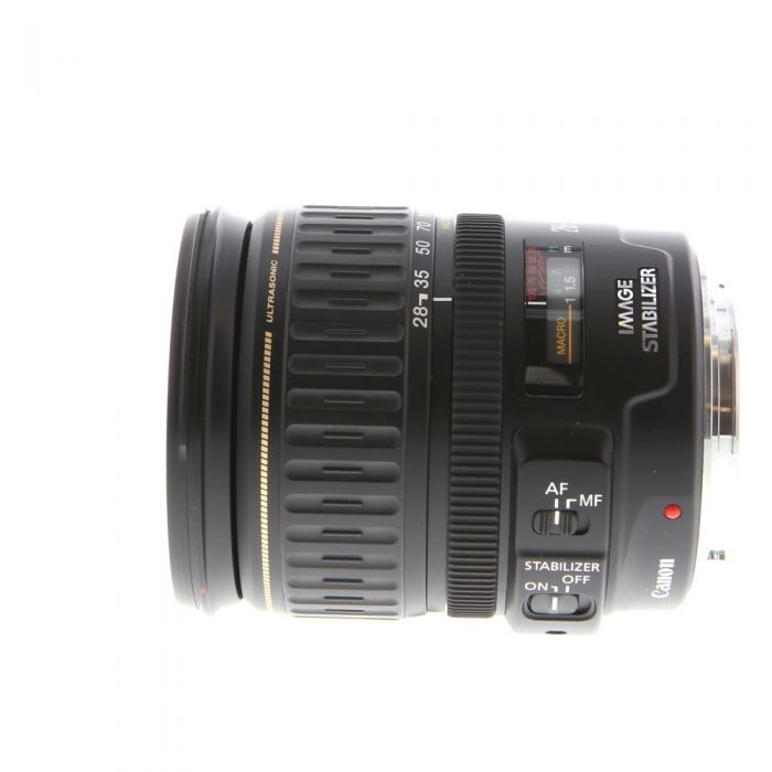 Canon 28-135mm f/3.5-5.6 IS Macro USM EF Mount Lens {72}