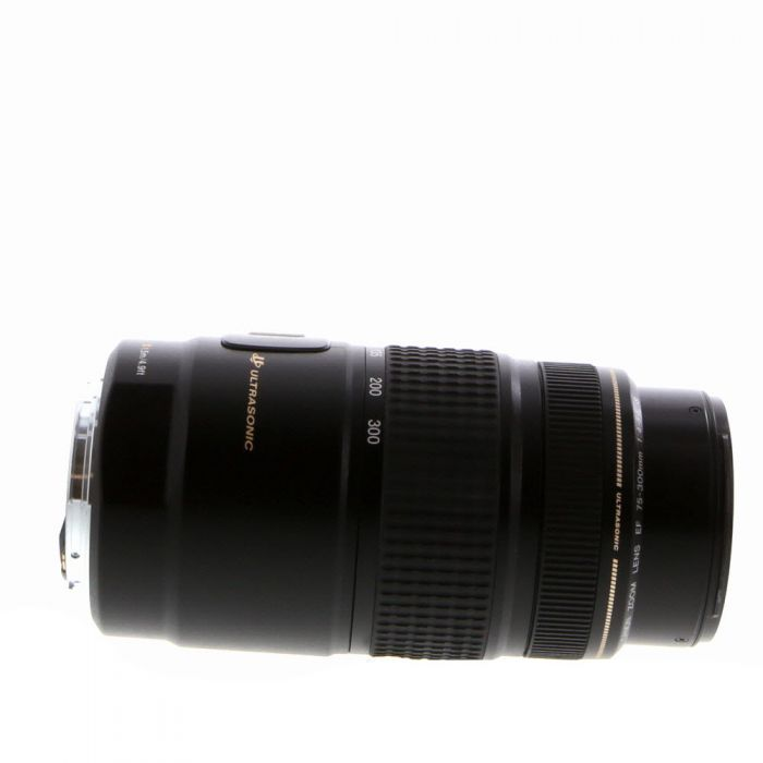 Canon 75-300mm f/4-5.6 IS USM EF Mount Lens {58}