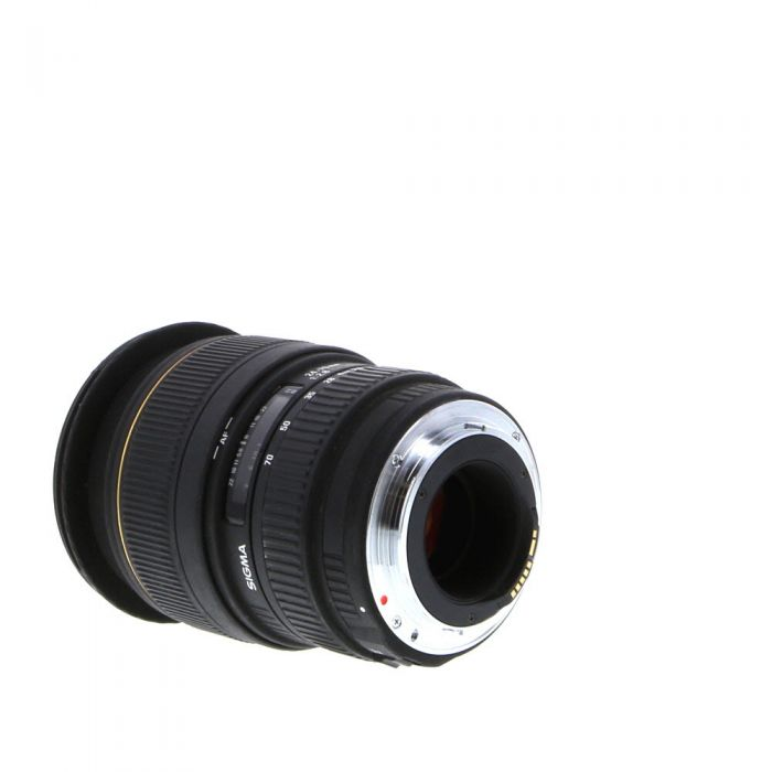 Sigma 24-70mm f/2.8 EX DG Macro Lens for Canon EF-Mount {82}