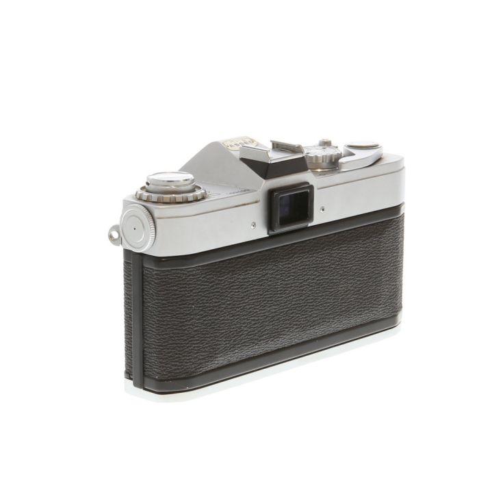 Canon Pellix QL Chrome 35mm Camera Body