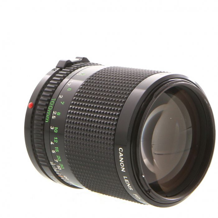 Canon 100mm F/2 FD Mount Lens {52}