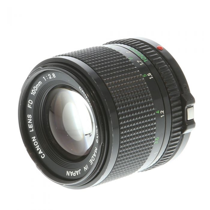 Canon 100mm F/2.8 FD Mount Lens {52}