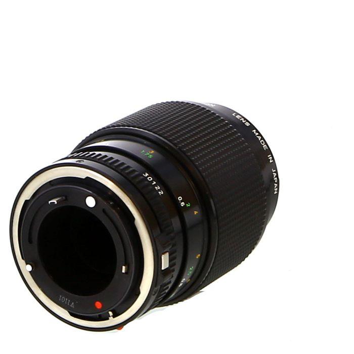 Canon 100mm F/4 Macro FD Mount Lens {52}