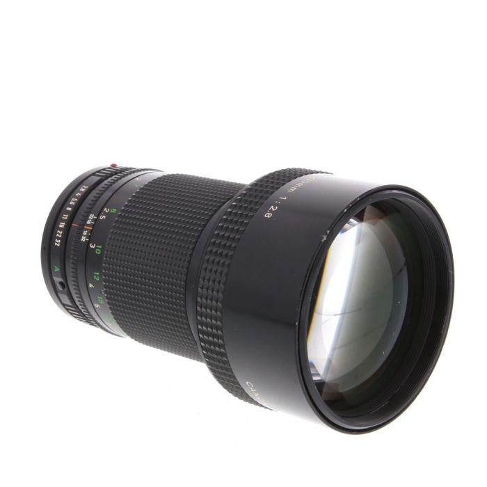 Canon 200mm F/2.8 FD Mount Lens {72}