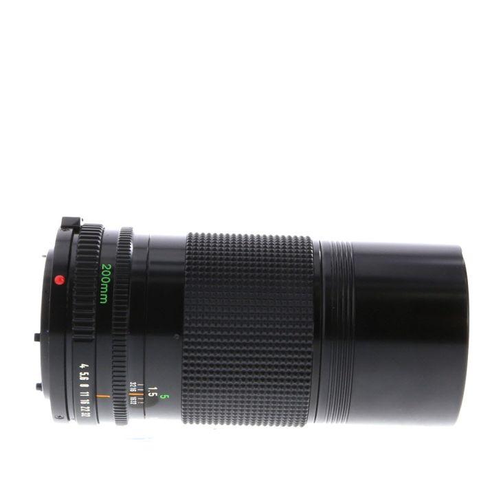 Canon 200mm F/4 FD Mount Lens {52}