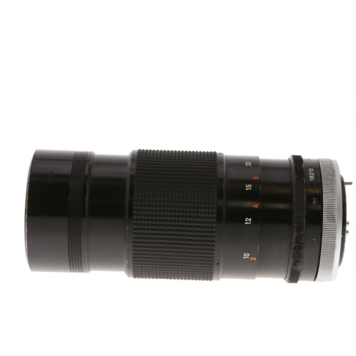 Canon 200mm F/4 Breech Lock FD Mount Lens {55}