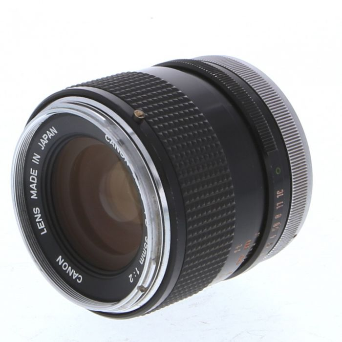 Canon 35mm f/2 Breech Lock FD-Mount Lens {55}