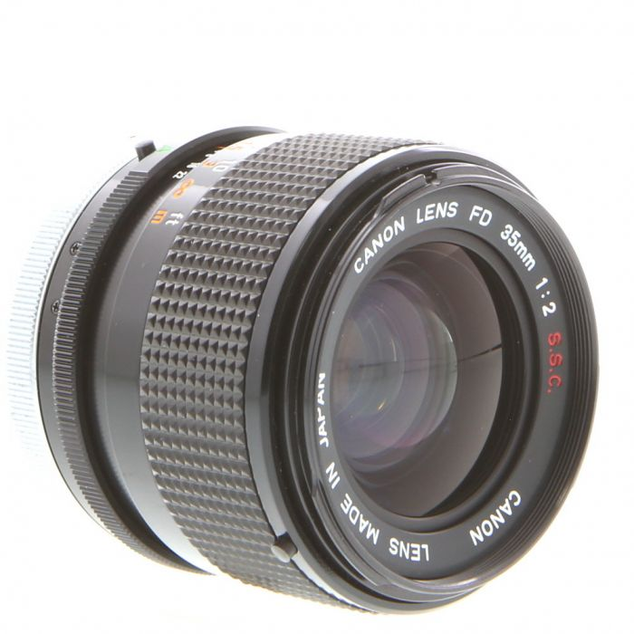 Canon 35mm F/2 SSC Breech Lock FD Mount Lens {55}