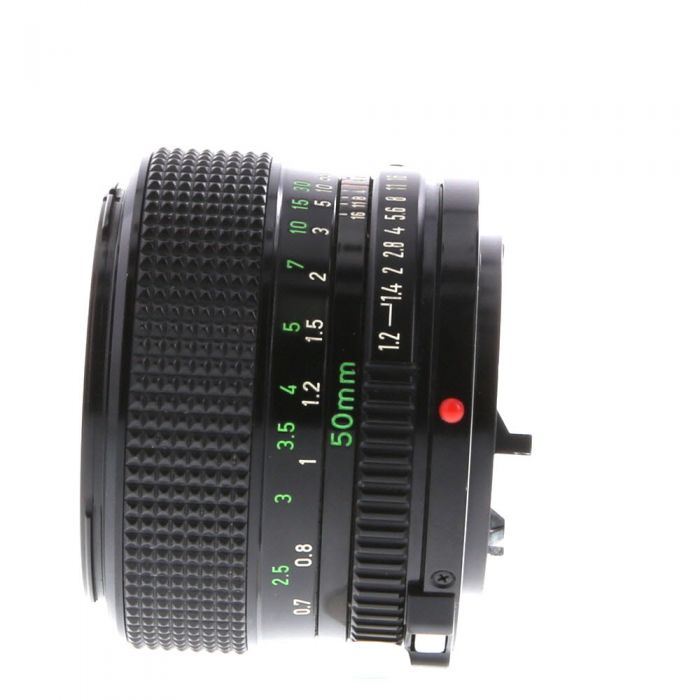Canon 50mm F/1.2 FD Mount Lens {52}