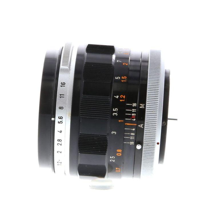 Canon 55mm F/1.2 Breech Lock FL Mount Lens {58}
