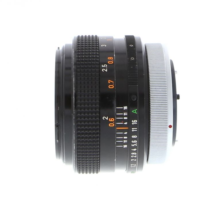 Canon 55mm F/1.2 SSC Breech Lock FD Mount Lens {58}
