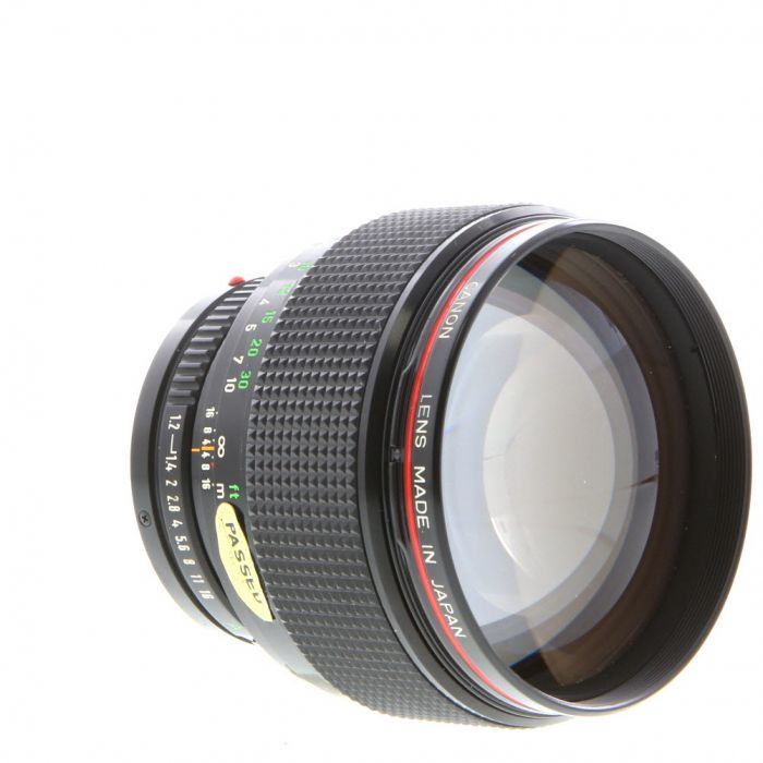 Canon 85mm F/1.2 L FD Mount Lens {72}