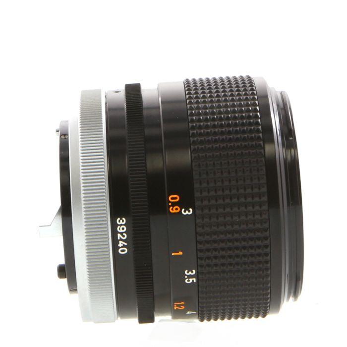 Canon 85mm F/1.8 SSC Breech Lock FD Mount Lens {55}