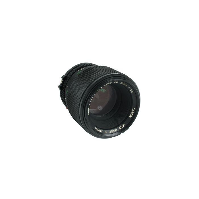Canon 85mm F/2.8 SF FD Mount Lens {58}