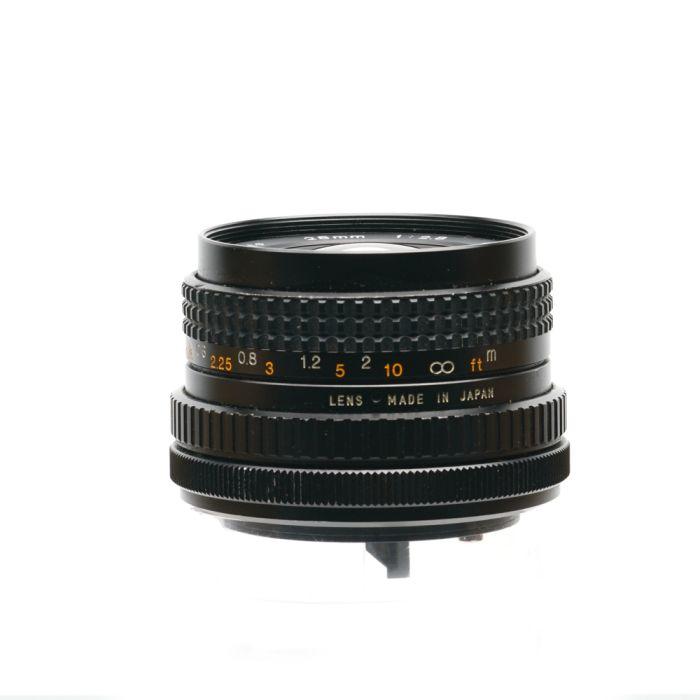 Tokina 28mm F/2.8 Special Breech Lock FD Mount Lens {52}