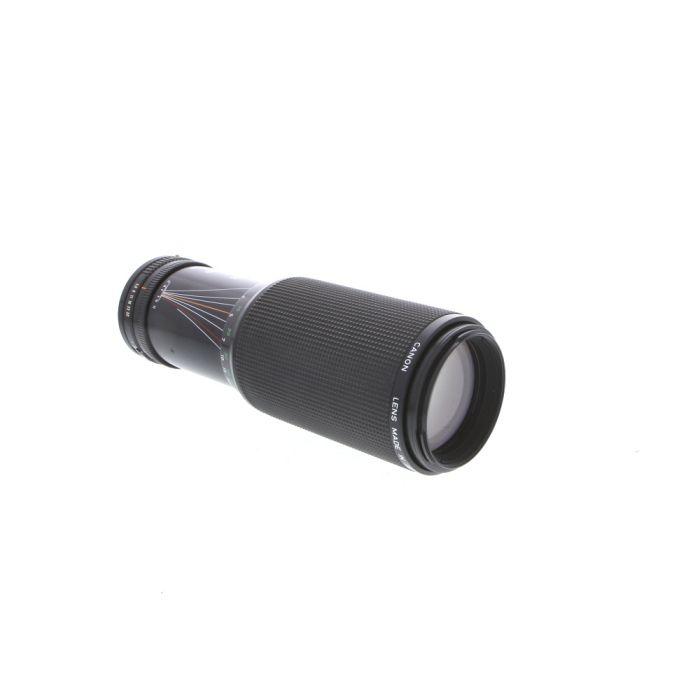 Canon 100-300mm F/5.6 L Macro FD Mount Lens {58} at KEH Camera