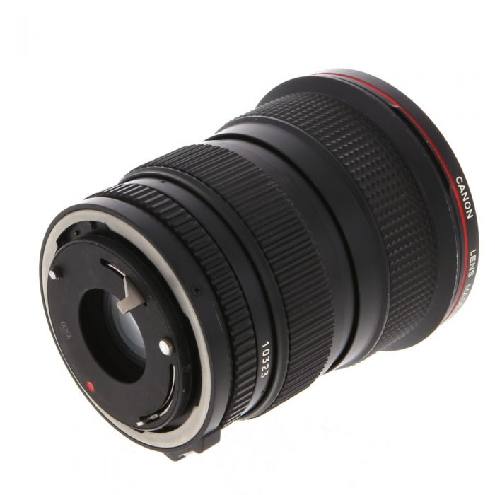 Canon 20-35mm F/3.5 L 2-Touch FD Mount Lens {72}