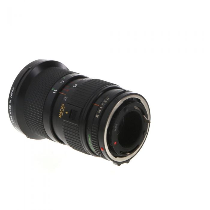 Canon FD 35-105mm f3.5 Macro Zoom Lens by Hoya Cosina Sigma Good for Students 35mm SLR DSLR MiNTY!