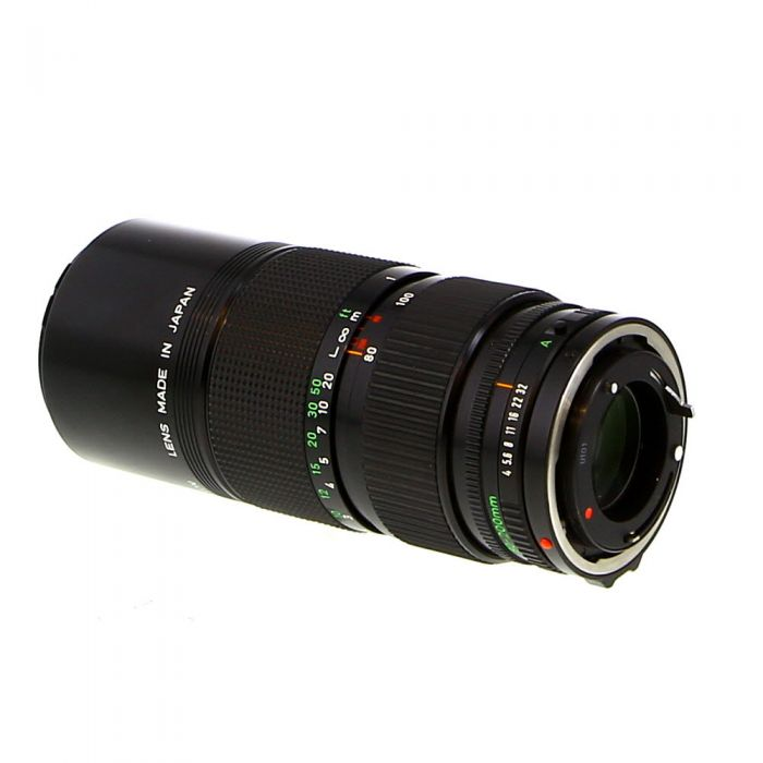 Canon 80-200mm F/4 2-Touch FD Mount Lens {58}
