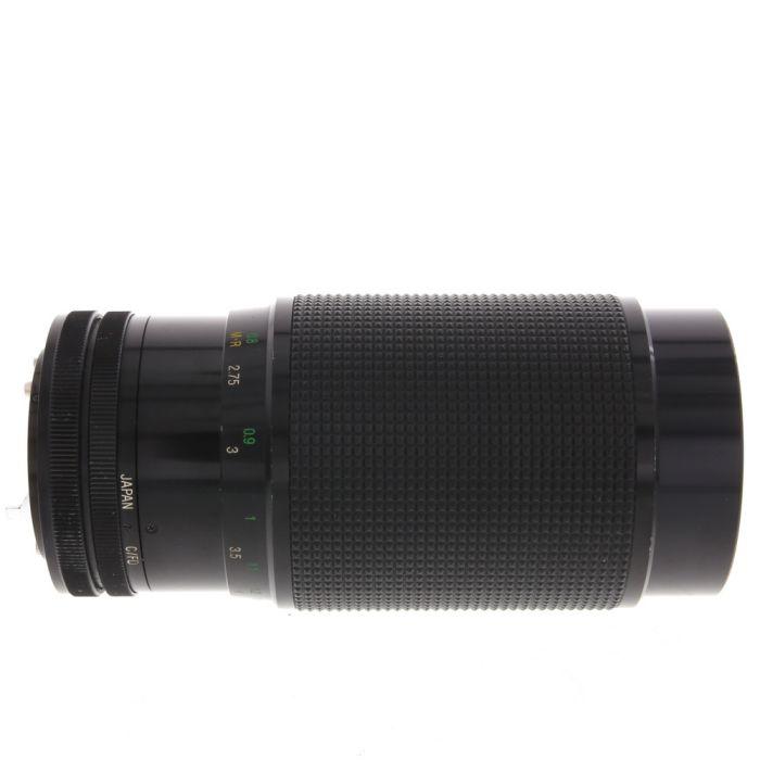 Vivitar 70-210mm F/2.8-4 Series 1 VMC Macro Breech Lock FD Mount Lens {62}