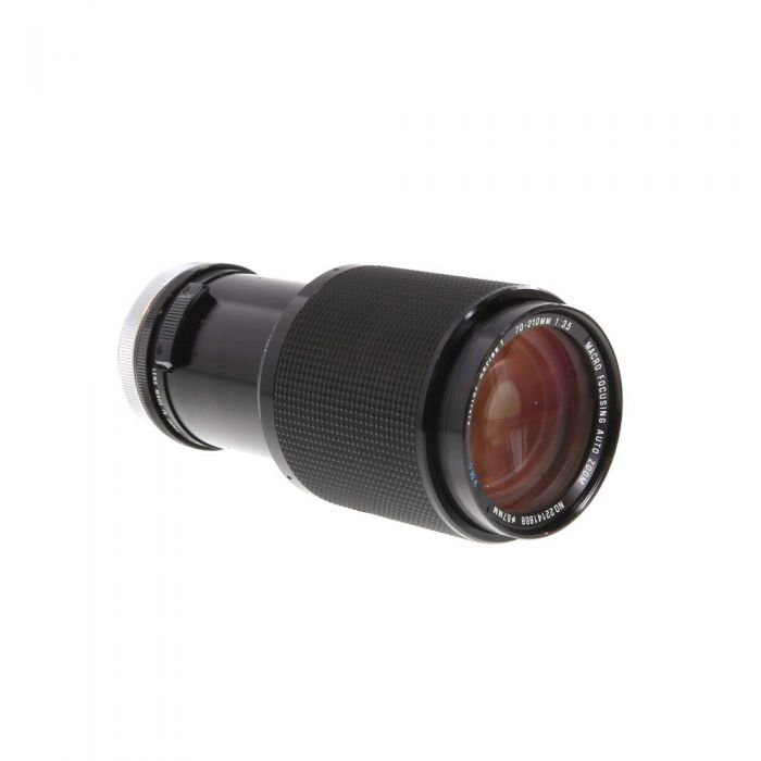 Vivitar 70-210mm F/3.5 Series 1 Macro Breech Lock FD Mount Lens {67}
