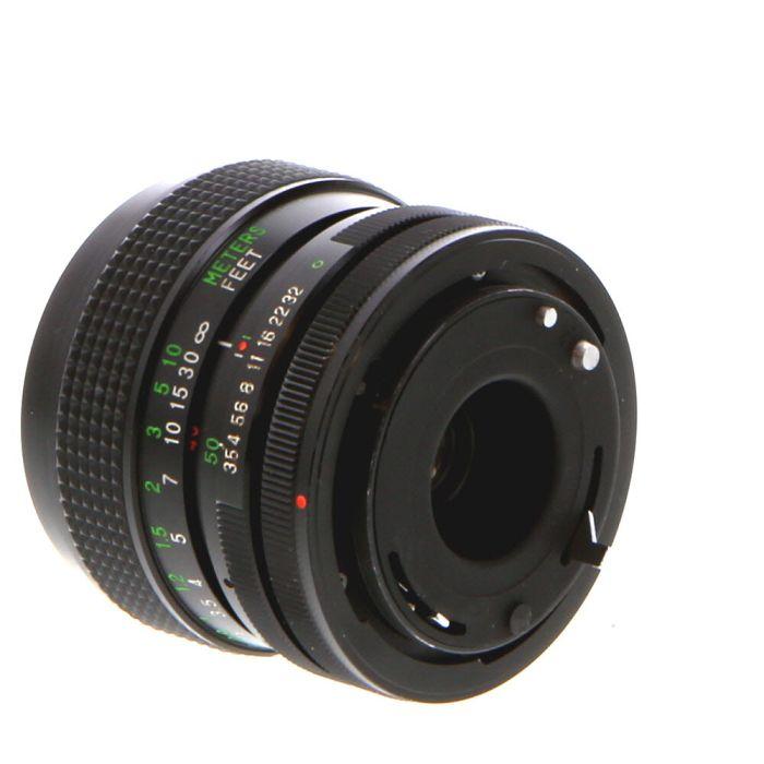 Vivitar 28-50mm F/3.5-4.5 Lens For Canon Manual Focus {58}
