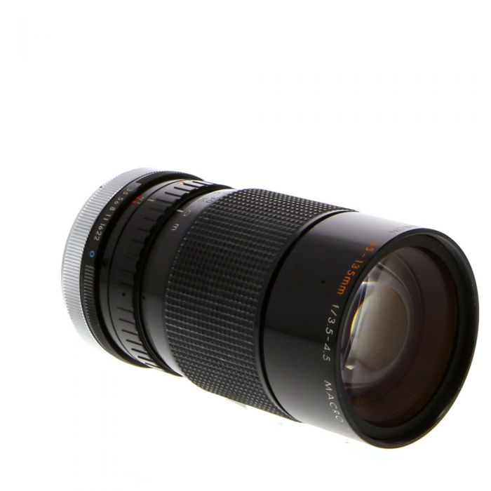 Kiron 35-135mm F/3.5-4.5 Macro MC Breech Lock Lens For Canon Manual Focus {62}