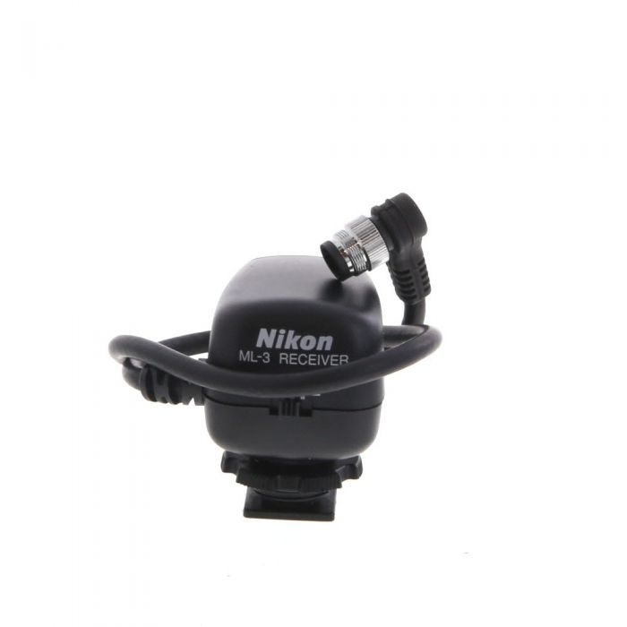 Nikon ML-3 Remote Control Set (Transmitter & Receiver)(F100,F5,F6,D3,D3S,D3X,D4,D5,D300,D500,D700,D800,D810,D850)