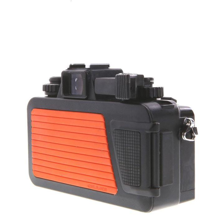 Nikonos V Waterproof Underwater Camera, Orange, with Nikkor 35mm f/2.5 Lens, Black