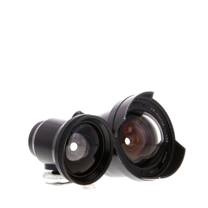 Nikon 15mm F/2.8 N UW Nikkor Black Lens For Nikonos Series Waterproof Underwater Cameras