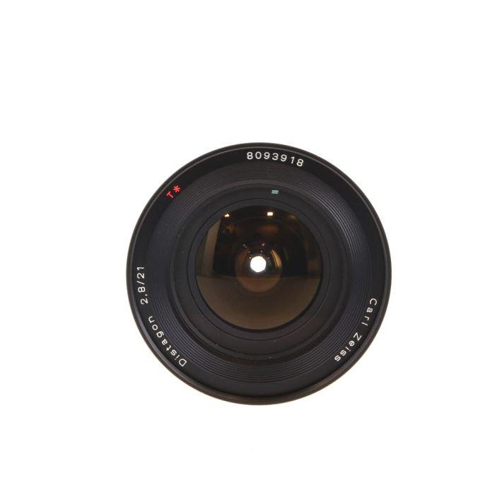 Contax 21mm f/2.8 Distagon T* MM C/Y Mount Lens {82}