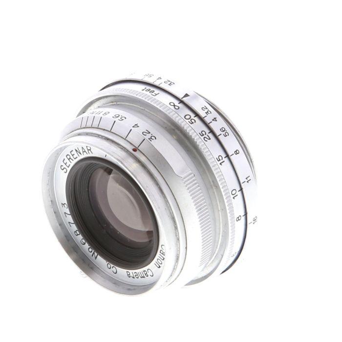 Canon 35mm F/3.2 Serenar Lens For Rangefinder Cameras {34}