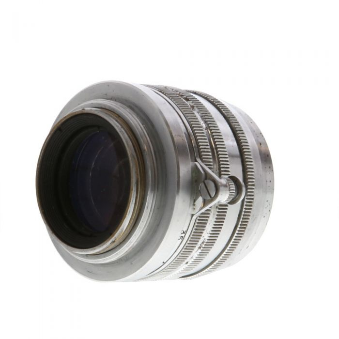 Canon 50mm F/1.8 Serenar Chrome Lens For Rangefinder Cameras {40}