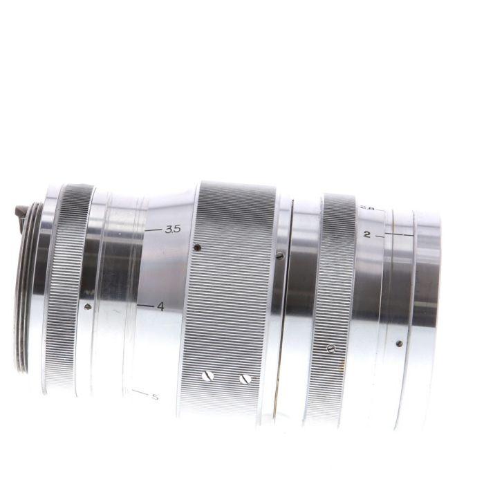 Canon 85mm F/2 Serenar Chrome Lens For Rangefinder Cameras {48}