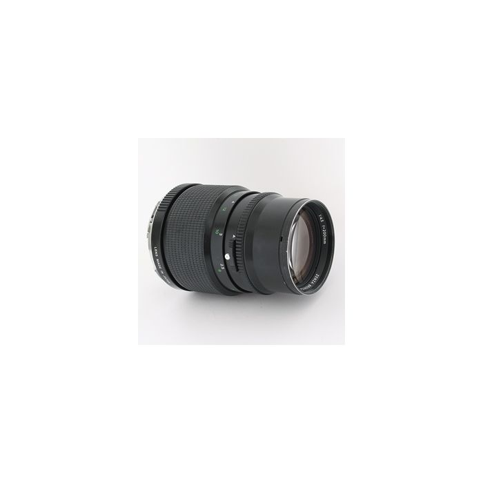 Bronica 200mm F/4.5 PE Lens For ETR System {62}