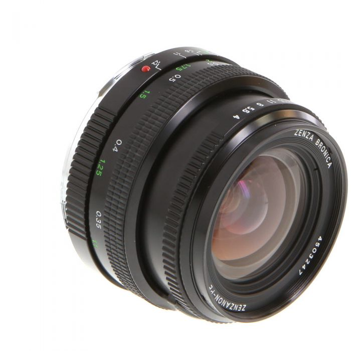 Bronica 40mm F/4 PE Lens For ETR System {62}