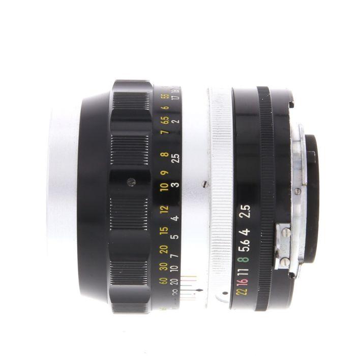 Nikon Nikkor 10.5cm (105mm) f/2.5 P AI'D NPK Manual Focus Lens {52}