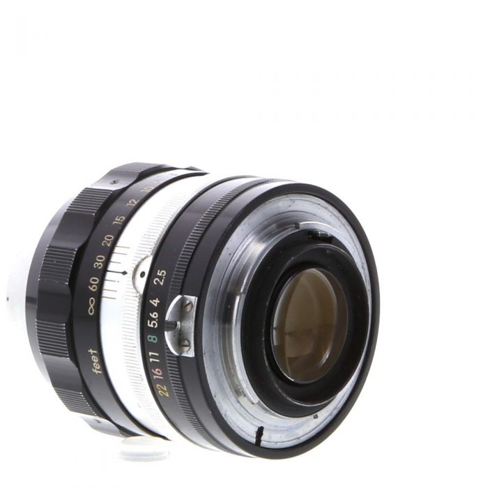 Nikon Nikkor 10.5cm (105mm) f/2.5 P Non AI NPK/Early, PAT Pend Manual Focus Lens {52}