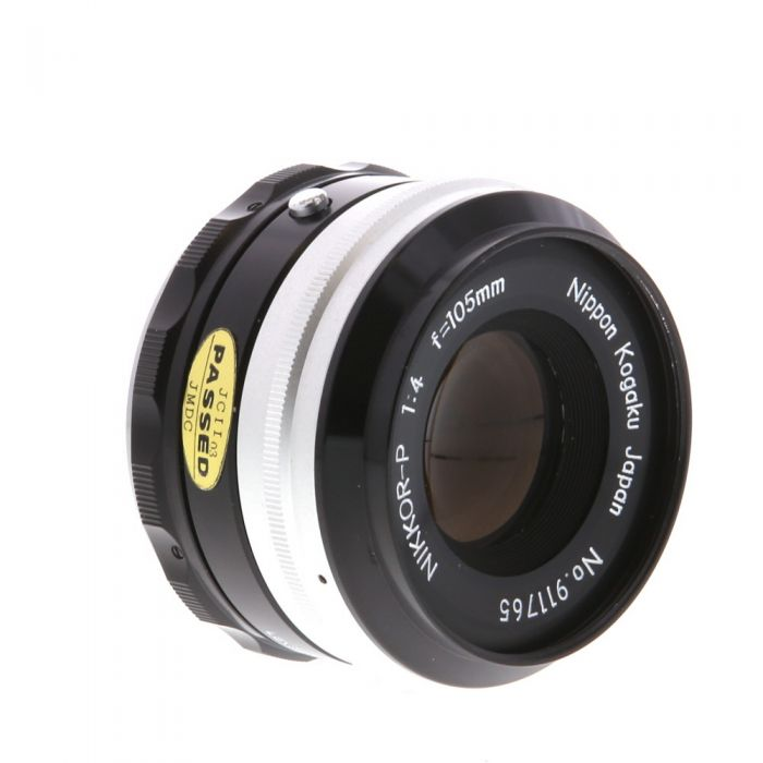 Nikon Nikkor 105mm f/4 P Lens {52} (For Use with Bellows System)