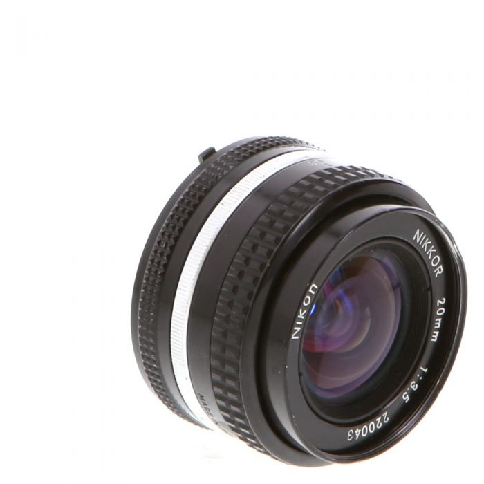 Nikon Nikkor 20mm F/3.5 AIS Manual Focus Lens {52}
