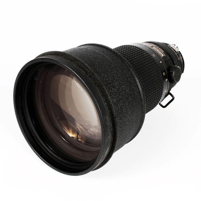 Nikon Nikkor 200mm F/2 ED IF AIS Manual Focus Lens {Drop In Gel Holder}