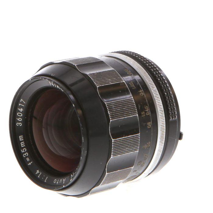 Nikon Nikkor 35mm F/1.4 N AI Manual Focus Lens {52}