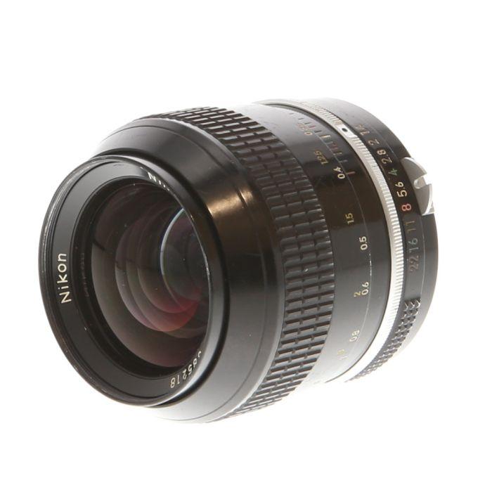 Nikon Nikkor 35mm F/1.4 Non AI Manual Focus Lens {52}