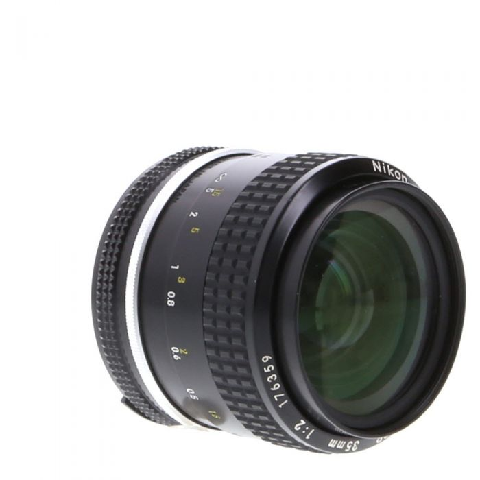 Nikon Nikkor 35mm F/2 AI Manual Focus Lens {52}