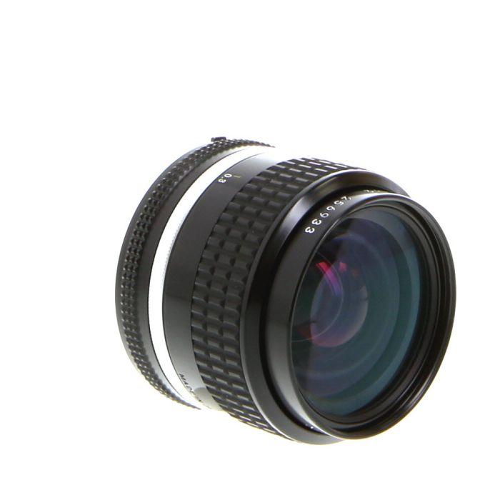 Nikon Nikkor 35mm F/2 AIS Manual Focus Lens {52}