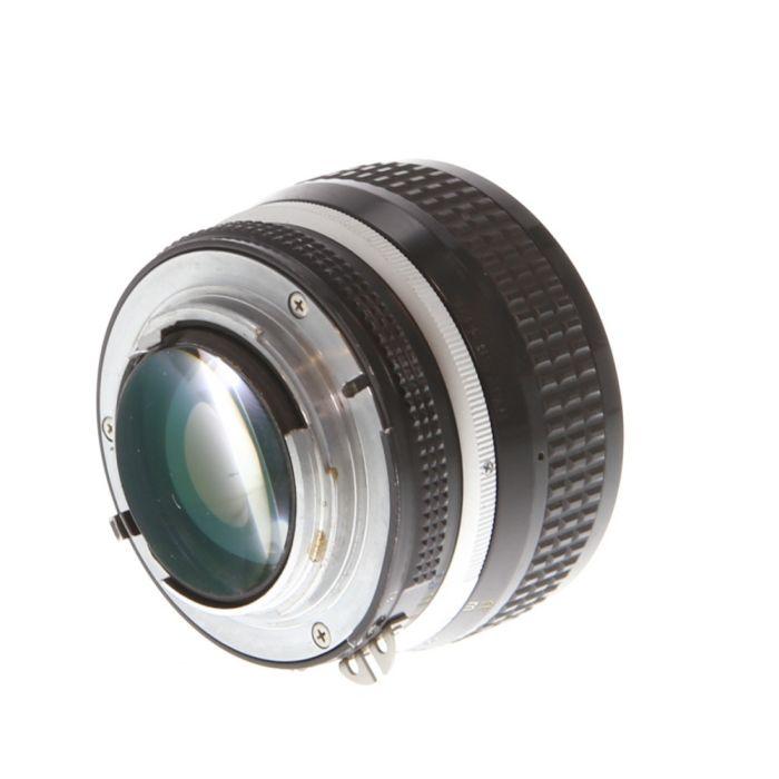 Nikon 50mm f/1.2 Nikkor AI Manual Focus Lens {52}